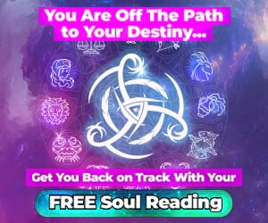 you are off the path to your destiny