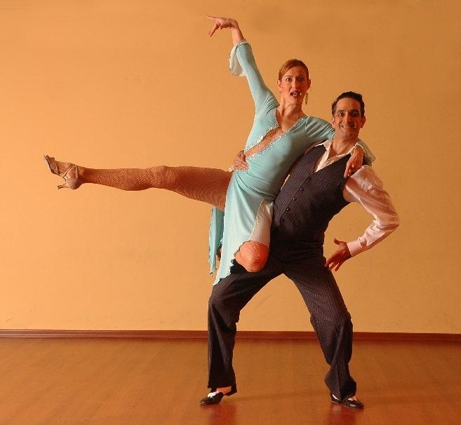 pair dancing