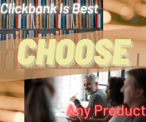 choose any product from clickbank