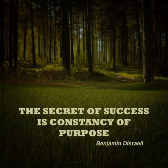 secrets of success quote